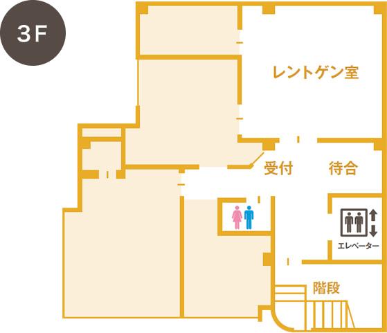 3F/レントゲン室フロア