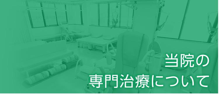 当院の専門治療について